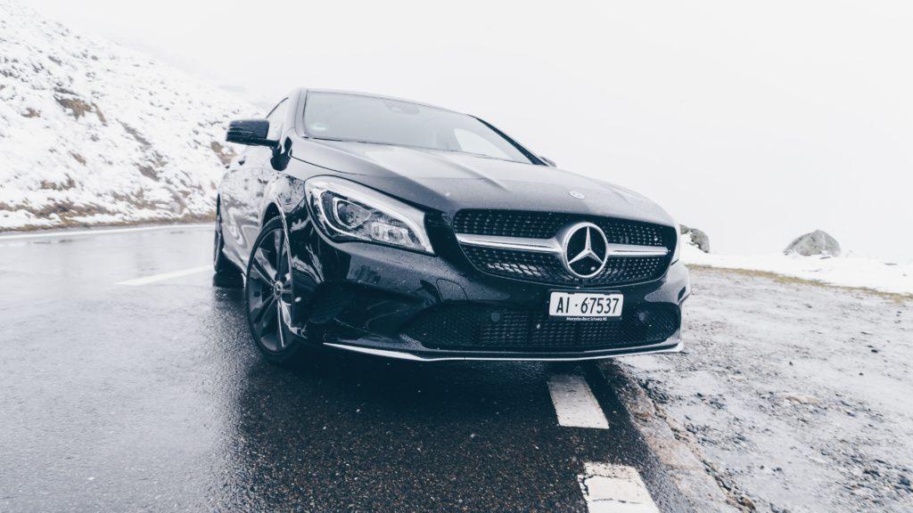 Mercedes på vinterføre, eu godkjenning av mercedes